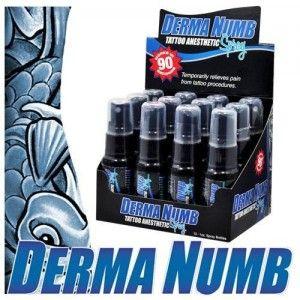 Derma Numb Tattoo Anesthetic Spray