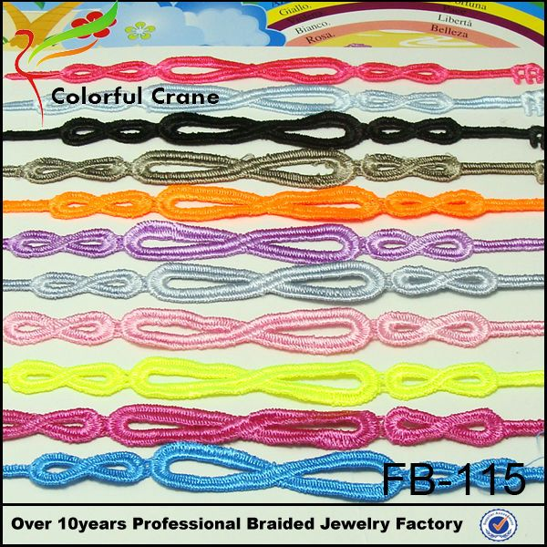 fashion bracelet fashion infinity lace cruciani bracelet