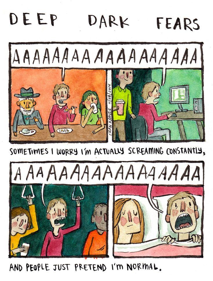 Screaming - Fran Krause