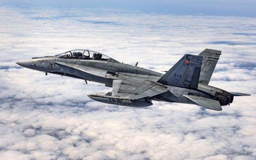McDonnell Douglas CF 18 Hornet Fighter 4K