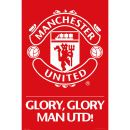 Manchester United Crest - Maxi Poster - 61 x Maxi poster featuring the crest of Manchester United FC. One of the most decorated clubs in world football. (Barcode EAN=5028486241736) http://www.MightGet.com/january-2017-11/manchester-united-crest--maxi-poster--61-x.asp