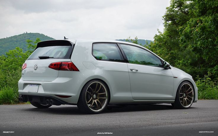 VW Golf R with Remus Exhaust System.