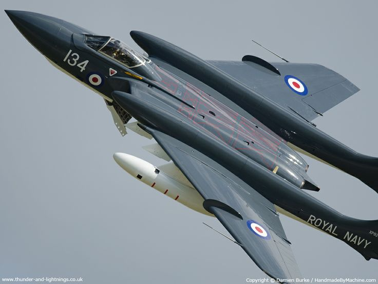 De Havilland Sea Vixen | Thunder & Lightnings - de Havilland Sea Vixen