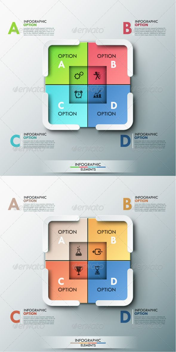 Modern Infographic Options Banner Template #design Download: http://graphicriver.net/item/modern-infographic-options-banner/8659117?ref=ksioks