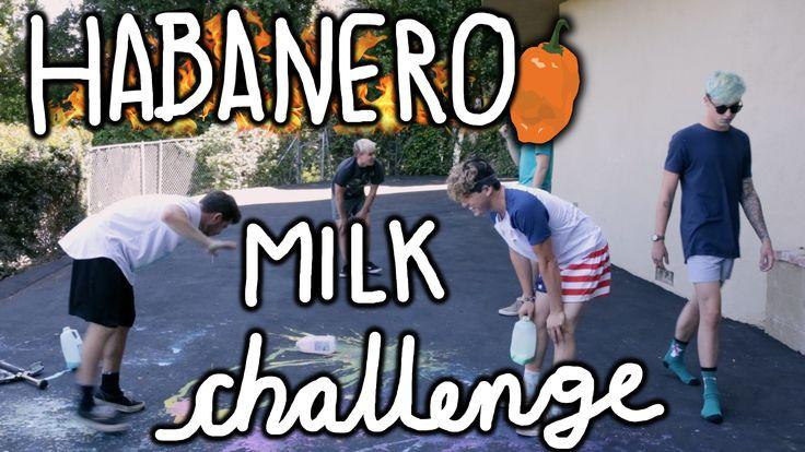 Habanero Milk Challenge