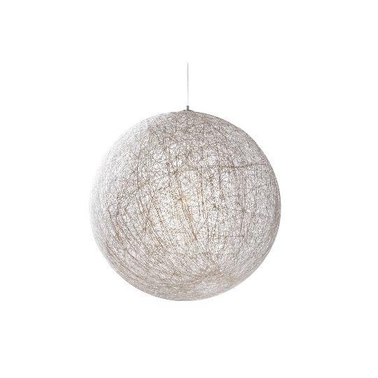 Lampa wisząca biała Moon 60 - CustomForm - TwojeMeble.pl - meble z kolekcji Lampy CustomForm