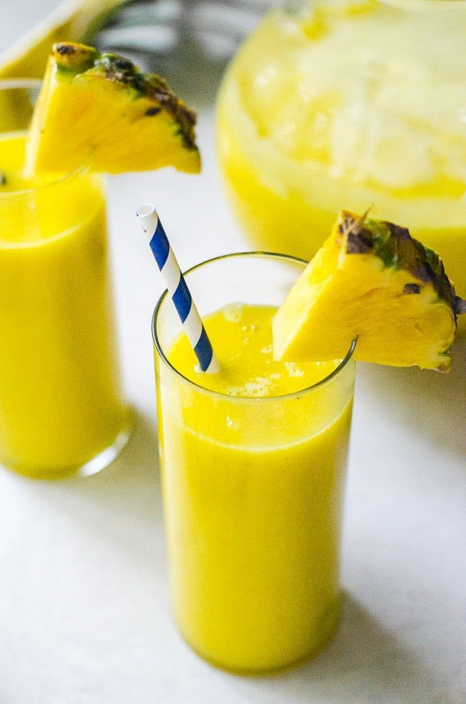 Fresh Pineapple Juice Recipe Without A Juicer Recipe Pineapple Juice Recipes Juicing Recipes Recipes