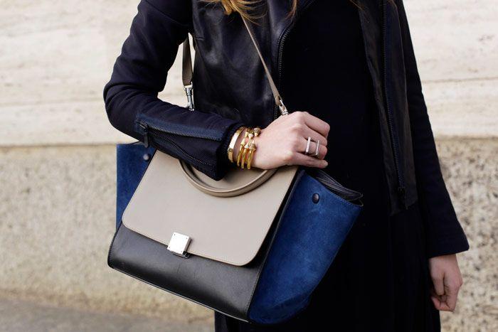 CELINE TRAPEZE BAG via The Blonde Salad | fashion | Pinterest ...