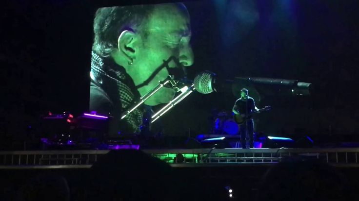 """HD Bruce Springsteen """"Ghost of Tom Joad"""" Acoustic Rom/Roma 16.07.2016"""