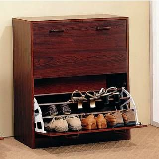 Check out the Coaster Furniture 900639 Double Shoe Rack in Cherry