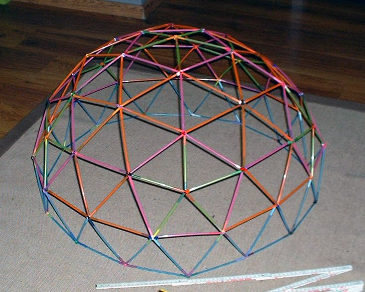 In the process of making this to see if its a good idea for my students... =) #Geodesic