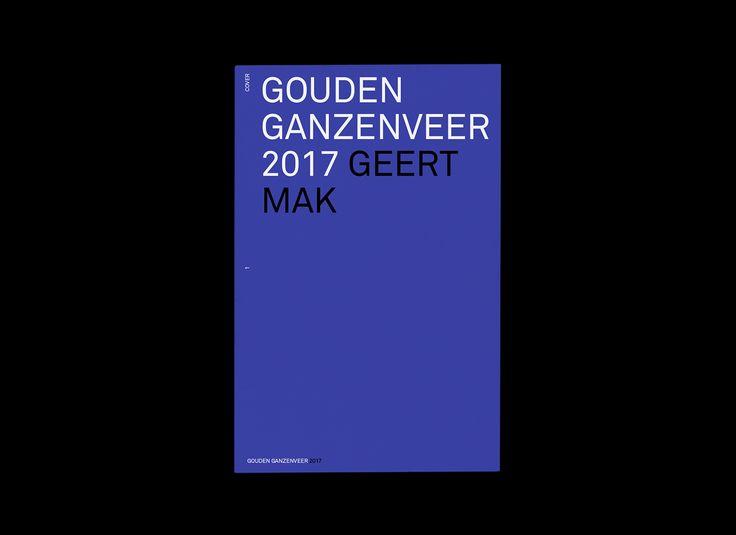 Gouden Ganzenveer 2017 on Behance