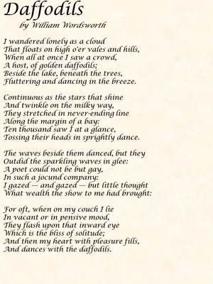 Reminds me of my beautiful sister emily.  William Wordsworth Poems | William Wordsworth