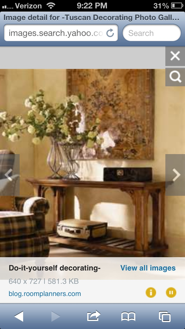 11 best Tuscan ideas images on Pinterest | Consoles ...