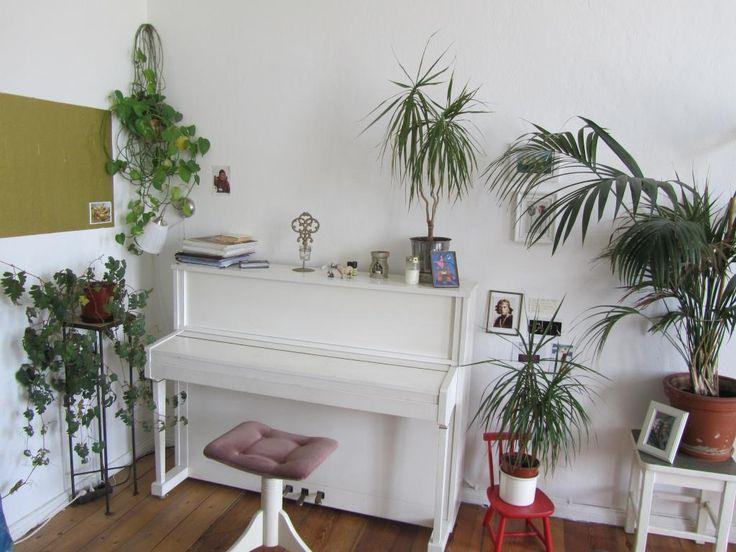 Beautiful Einfache Dekoration Und Mobel Sommerliche Textilien #5: Ein Sehr Schön Sommerlich Dekoriertes Musikzimmer! Lassen Sie Den Sommer  Auch In Ihr Zuhause!