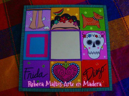 Espejo Frida y Diego