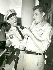 """Andy Griffith.  You gave us many hours of pure pleasure, watching your television roles.  May you """"rest in peace."""""""