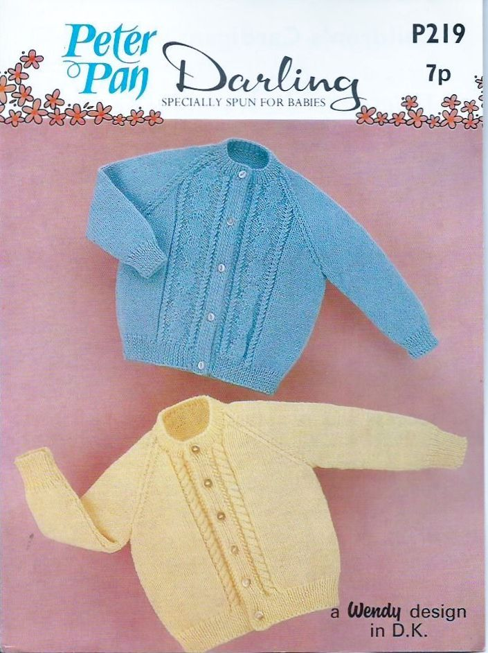 6dce961f5 PDF Digital Vintage Knitting Pattern P219 Baby Toddler Children s ...