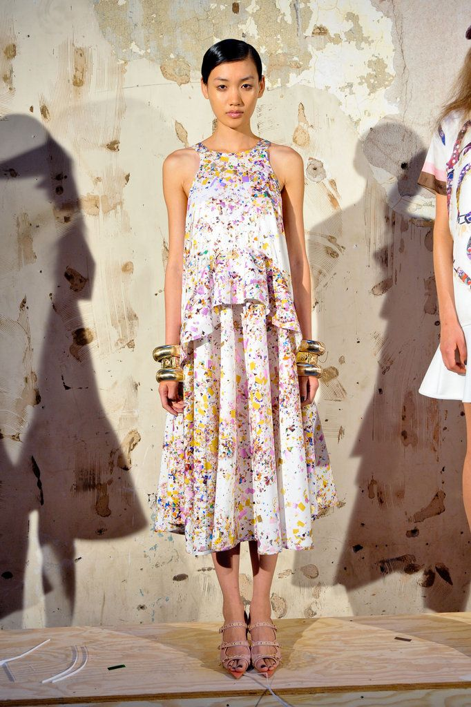 Cynthia Rowley Spring 2013  confetti party