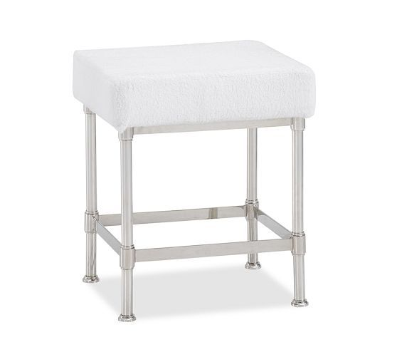 Good Metal Bath Stool | Pottery Barn