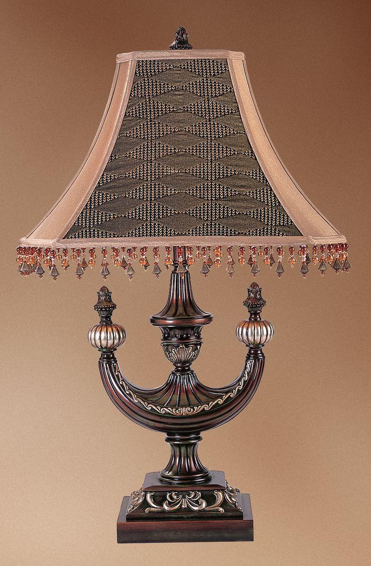 """29""""H Alhambra Oblong Desk Lamp"""