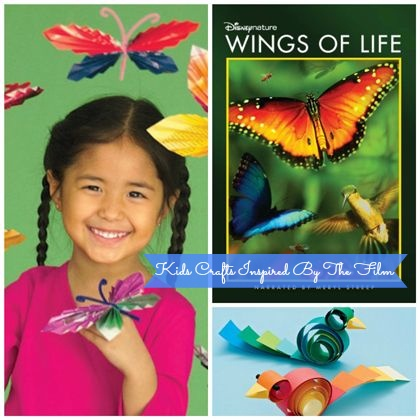 #DisneyNature Wings Of Life On Blu-ray & DVD + Kids Crafts Inspired By The Film - Perfect For Earth Day! - #Spon