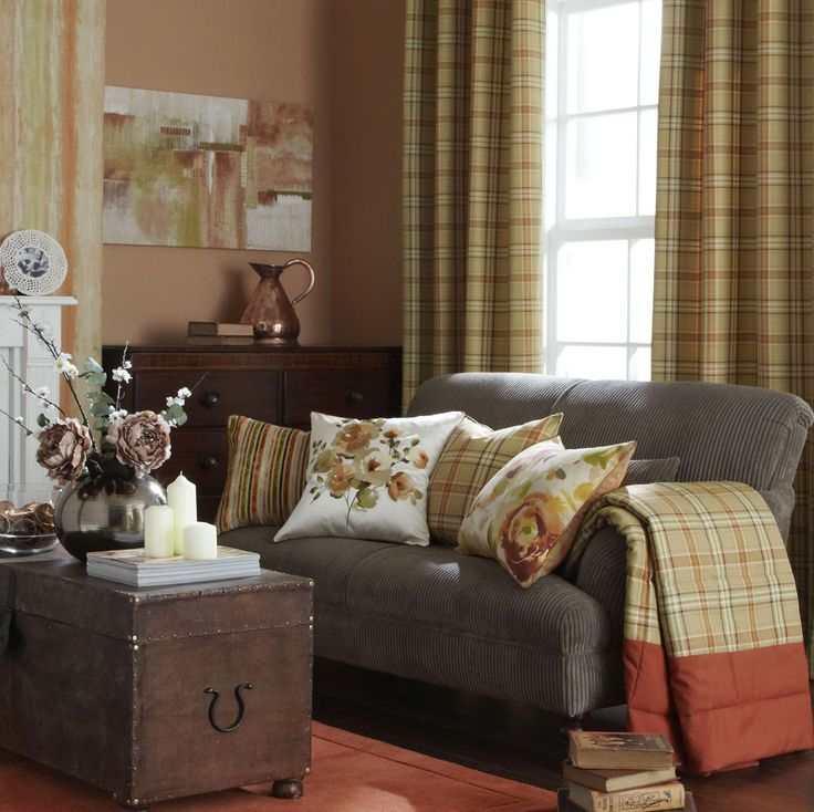 1000 Ideas About Burnt Orange Curtains On Pinterest Burnt Orange Decor Brown Cushions And