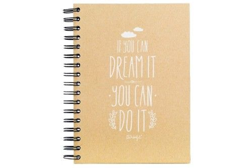 Carnet If you can dream it, you can do it Mr Wonderful