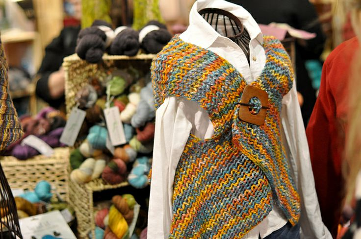 Hand knitting yarns - Visit the Creativ Festival with Maple Leaf Tours