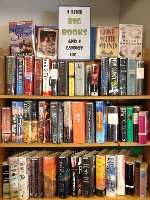 Book Displays at MPL by montereypubliclibrary, via Flickr