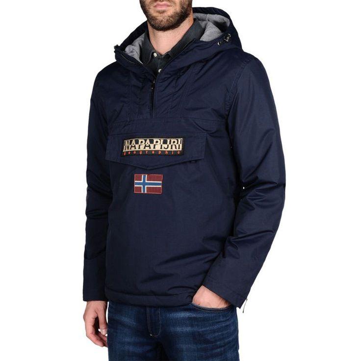 Napapijri Rainforest Winter 16 Blu Men Giaccone Uomo Ragazzo Inverno Jacket