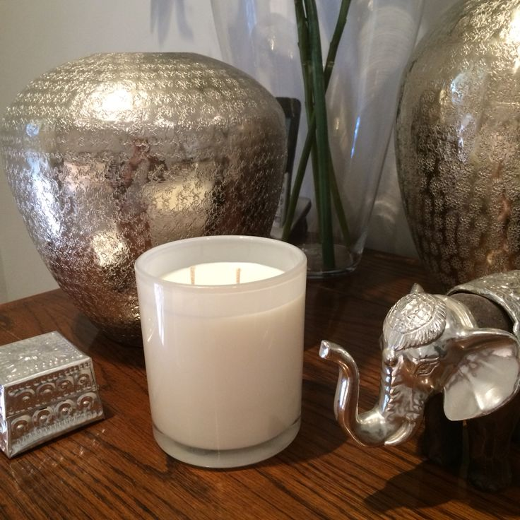 Signature range by Miss White Candles-gorgeous white candle and amazing frangrace