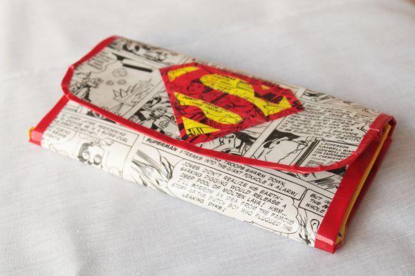 Superman Women's Duct Tape Wallet