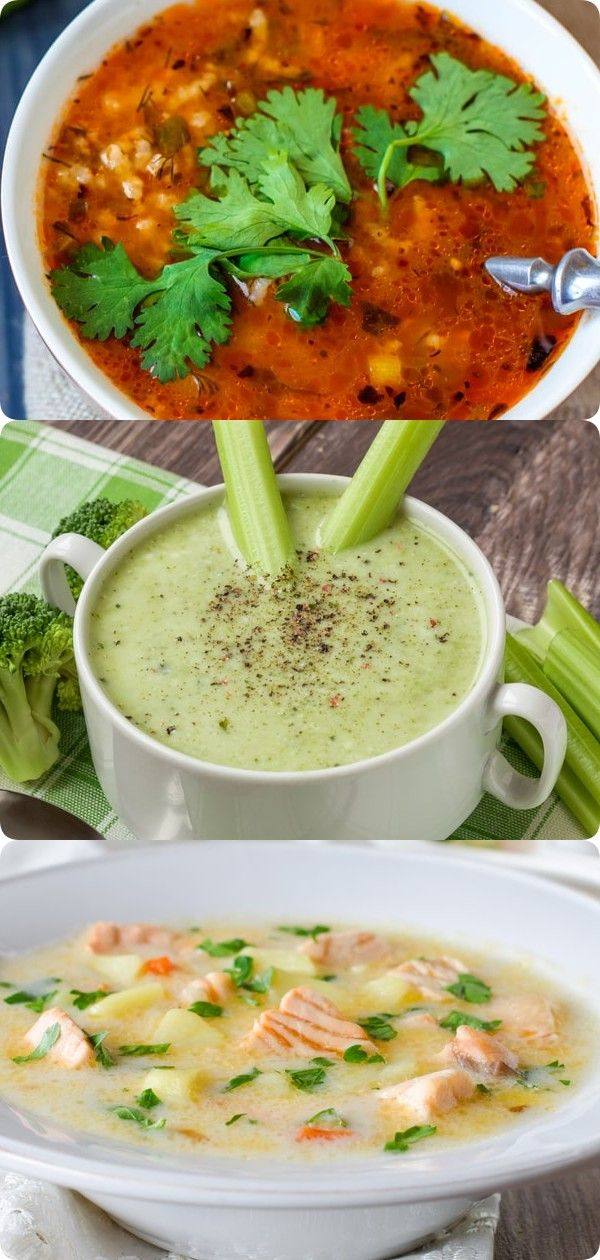 Самые вкусные рецепты супов. 10 штук | Еда, Питание рецепты