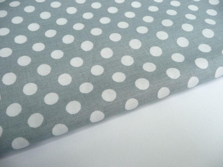 46. Medium grey, white dots