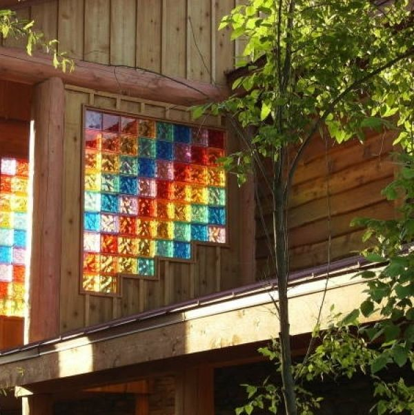 25 best ideas about glass block windows on pinterest - Glass bricks designs walls ...