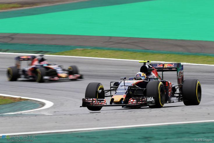 Carlos Sainz Jnr, Toro Rosso, Interlagos, 2016