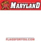 Maryland Terrapins Banner 8' x 2'