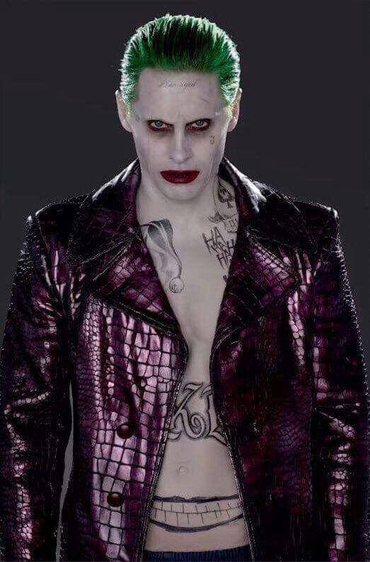 Jared as the Joker