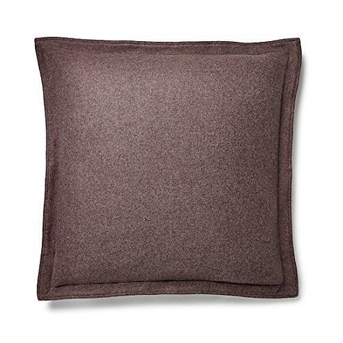 RALPH LAUREN ARCHIVAL GREAT COMPTON Riverport EURO Pillow Sham Purple wool $215  #RalphLauren #Euro #PillowSham #Pillow #Sham #Purple #GreatCompton