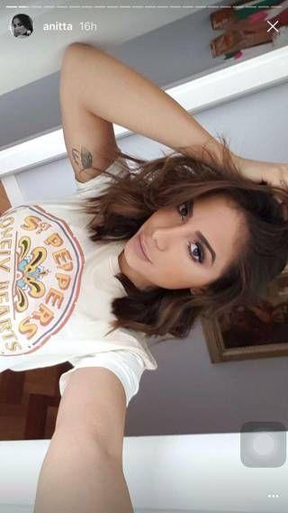 Anitta (Reprodução/ Snapchat/Instagram)