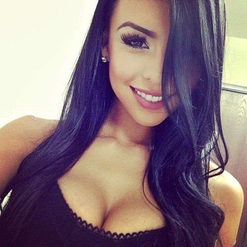 Hot Girls With Black Hair
