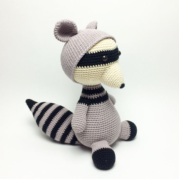 Roger the Racoon by LittleHappyCrochet on Etsy