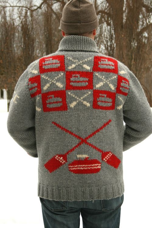 Curling Sweater | Moth Heaven