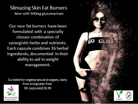 Fat burners with 500mg Glucomannan support the body's natural fat burning processes, along with the feeling of fullness, energy levels, thyroid function, carbohydrate, lipid and fatty acid metabolism, stable blood sugar levels and other vital aspects of effective weight loss.