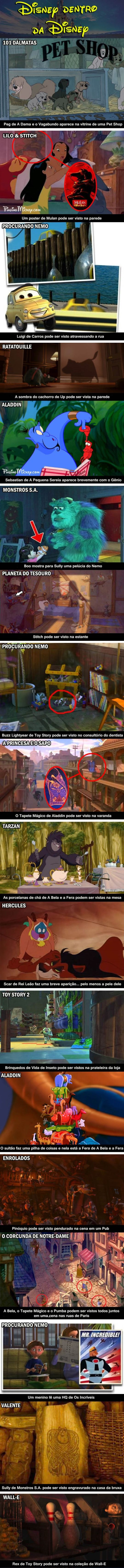 Disney dentro da Disney