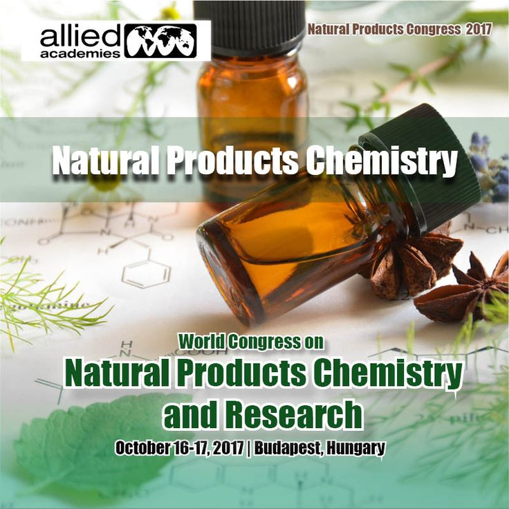 Natural Products Chemistry Natural products are naturally occurring substances that are used to restore or maintain good health.