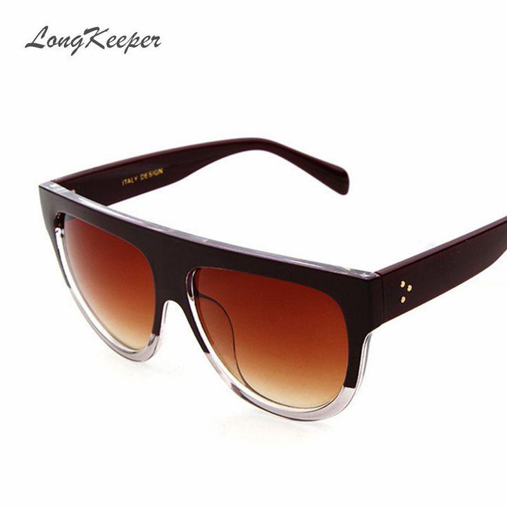 $5.26 (Buy here: https://alitems.com/g/1e8d114494ebda23ff8b16525dc3e8/?i=5&ulp=https%3A%2F%2Fwww.aliexpress.com%2Fitem%2FRetro-Oversized-Womens-Sunglasses-High-Quality-Flat-Top-Brand-Design-Vintage-Sun-glasses-Women-Men-Shades%2F32721827979.html ) Retro Oversized Womens Sunglasses High Quality Flat Top Brand Design Vintage Sun glasses Women Men Shades Big Frame Gafas Y41026 for just $5.26