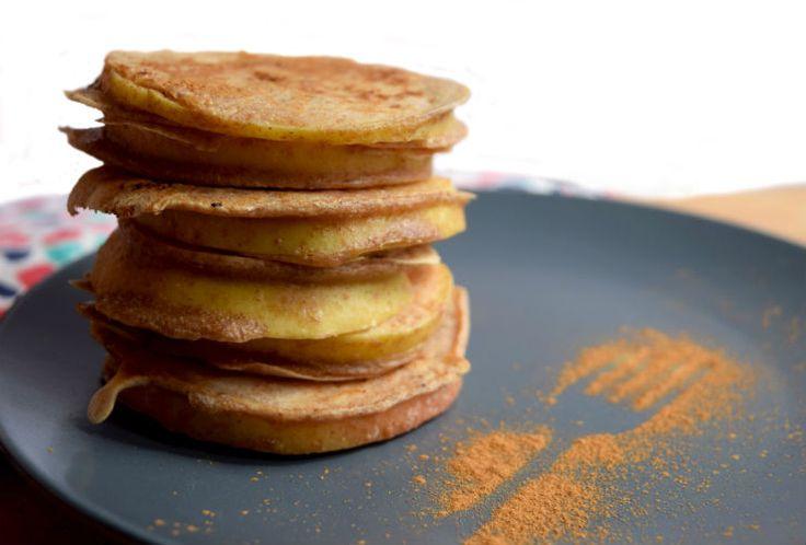 Iedereen met kleinepannenkoekmonstertjes opgelet! Dit is weer een heerlijke variant op de Hollandse pannenkoek.Deze pannenkoeksnack is gemaakt van schijfjes