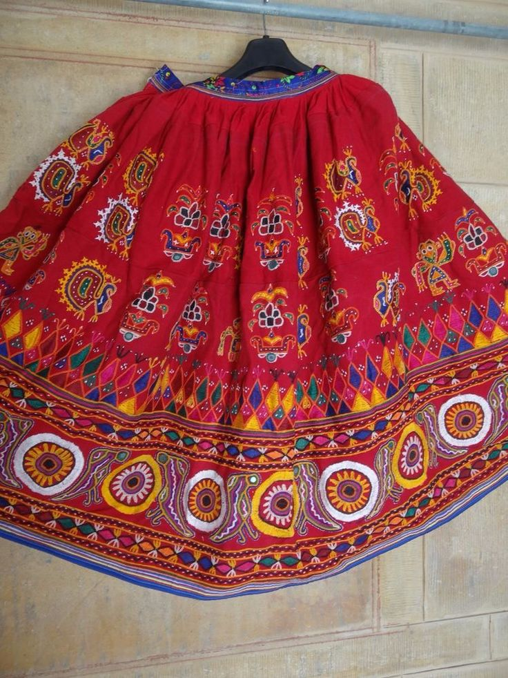 RABARI BANJARA TRIBAL ETHNIC BELLY DANCE EMBROIDERY SKIRT